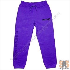 Low Price Customer Design Screen Printed French Terry Cotton Basic Plain Dyed Men Printing Pants Sweat Pant Casual Wears Supplie