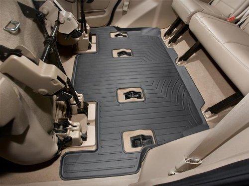 Black WeatherTech  441761  Custom Fit Front FloorLiner for Nissan Frontier//Suzuki Equator
