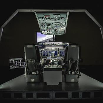 B737ng Advanced Procedure Trainer With Tactile 3d Panels - Buy 737 Flight  Simulator,Flat Panel Trainer,Advanced Procedure Trainer Product on