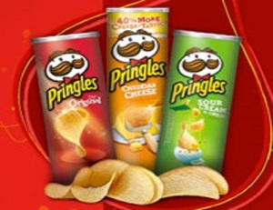 Pringles Potato Chips 40g, 65, 150g, 154g, 161g, 165g ,169g 187g