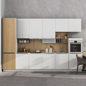 Kitchen Maker in Guangzhou Modern PVC Kitchen Cabinet Units