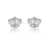 Best Selling 14k white gold Diamond baguette diamonds earring for men pink princess earrings
