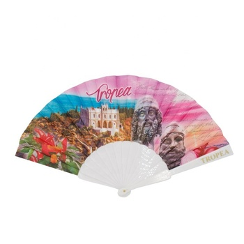 Promotional Antique Plastic Material hand fan