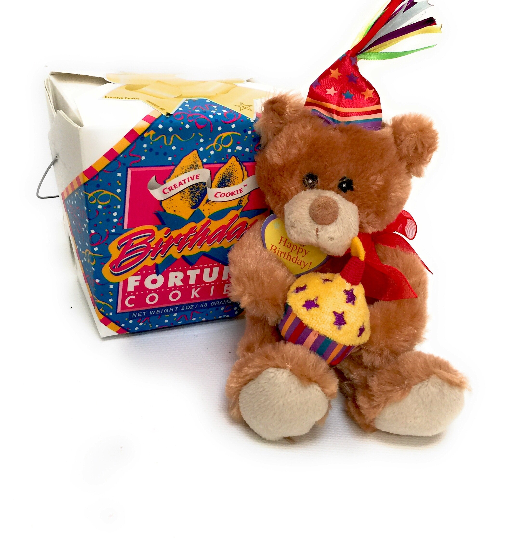 Get Quotations · Happy Birthday Teddy Bear   Fortune Cookies Gift 3e7adb6109d5