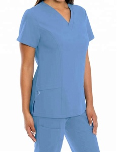 Medical V-neck Scrubs (No Ironing needed), nursery scrubs, dental scrubs, doctor uniform