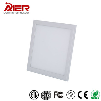 Square surface mounted led panel light ceiling slim certified high lumen smd led panel light
