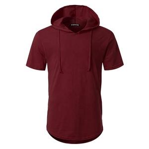 3abd3823bdf Mens Short Sleeve Hooded Shirt
