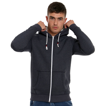 Blackout Wholesale Mens Custom Sleeveless Hoodie 100% Cotton Full Zip Slim Fitted Gym