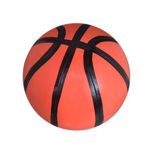 Promotional safety pvc leather ball toys kids mini basketball game stress ball basketball for kids toy