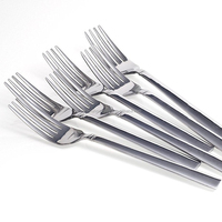 Custom logo safe and healthy household use stainless steel 202 Fork