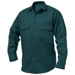 work wear uniform/ long sleeve cotton twill work shirts