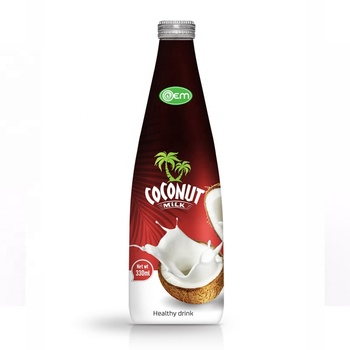 Premium Quality 1L Glass Bottle Coconut Milk