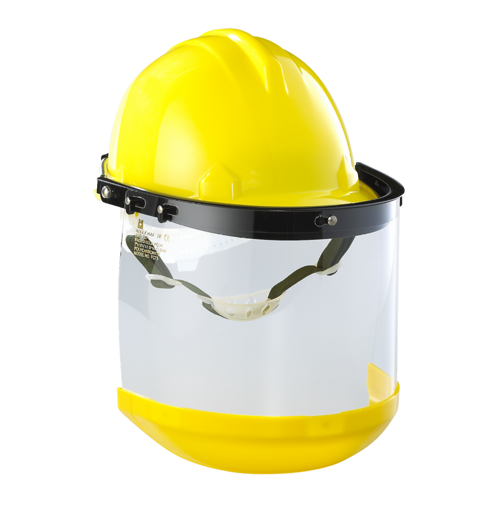 Safety Supplies industrial cutting protective face shield