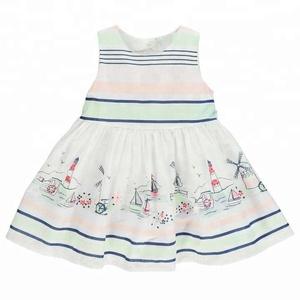 Wholesale Children Clothing Little Girl Kids Cotton Frocks Baby Summer Dress