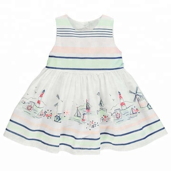 7d5fe989f162 Wholesale Children Clothing Little Girl Kids Cotton Frocks Baby Summer Dress