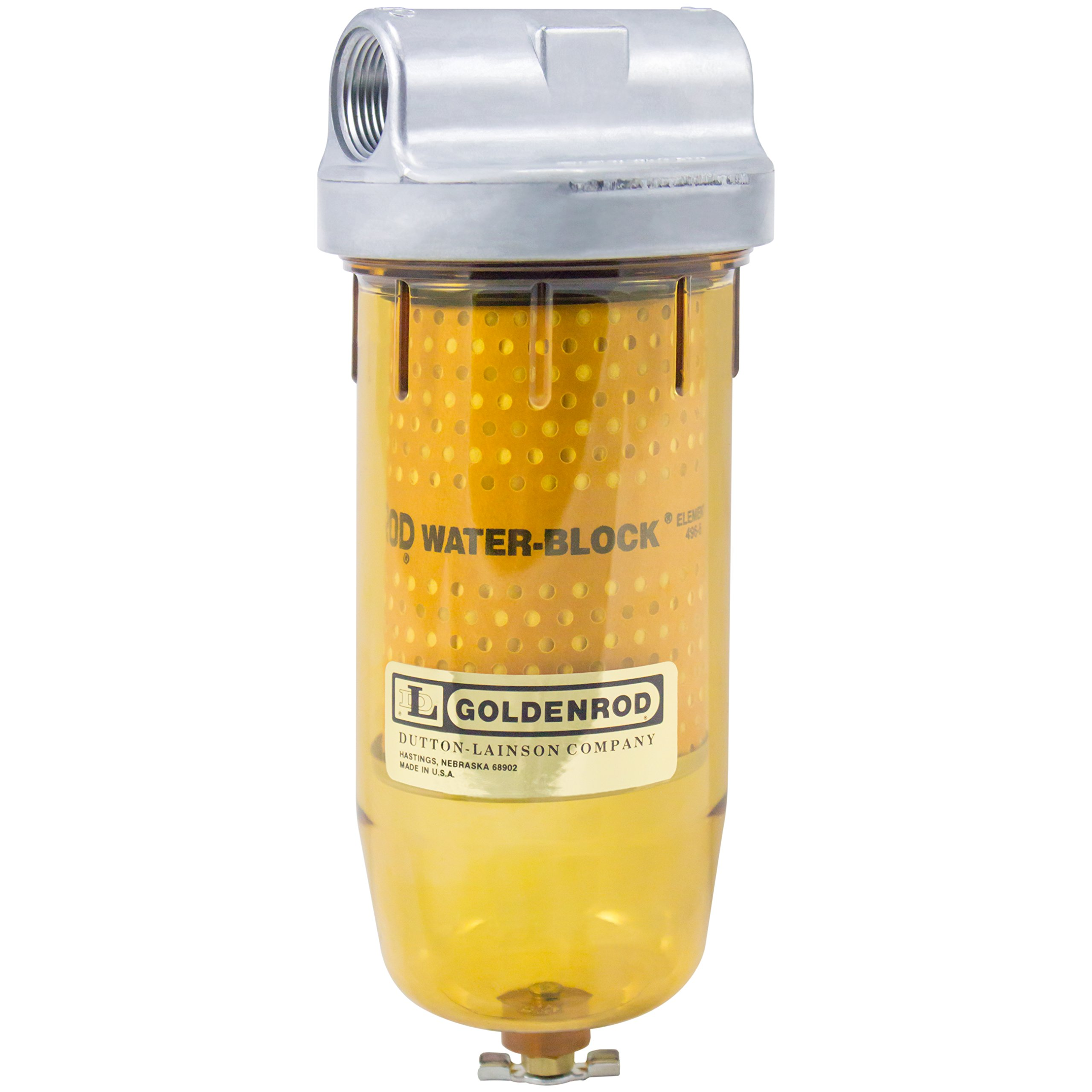 Get Quotations · GOLDENROD 496-3/4 WATER-BLOCK FILTER (56591) Bowl Fuel Tank