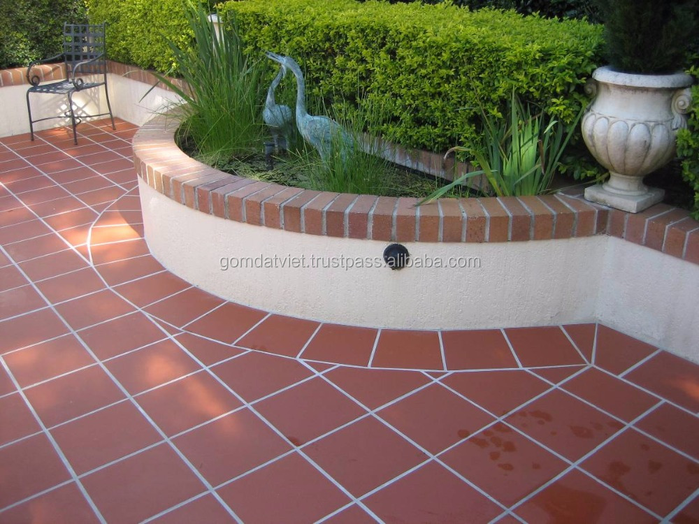 Non Slip Outdoor Decoration Terracotta Ceramic Floor Tile 300x300