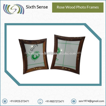 Brown And Dark Brown Color Rose Wood Photo Frames At Wholesale Rate