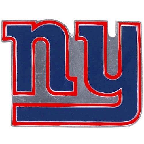 NFL New York Giants Pewter Team Logo Belt Buckle