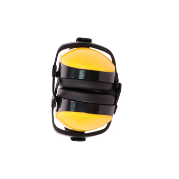 Light Weight Yellow Color Folding Safety Earmuffs