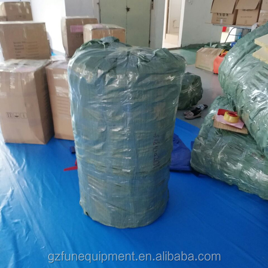 packing of woven bag