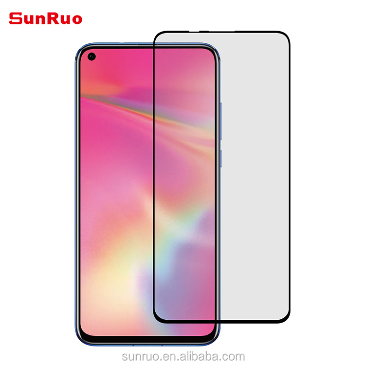 0.33mm Tempered Glass Screen Protector For Huawei Honor 20 Colored 2.5D Full Cover Screen Protector