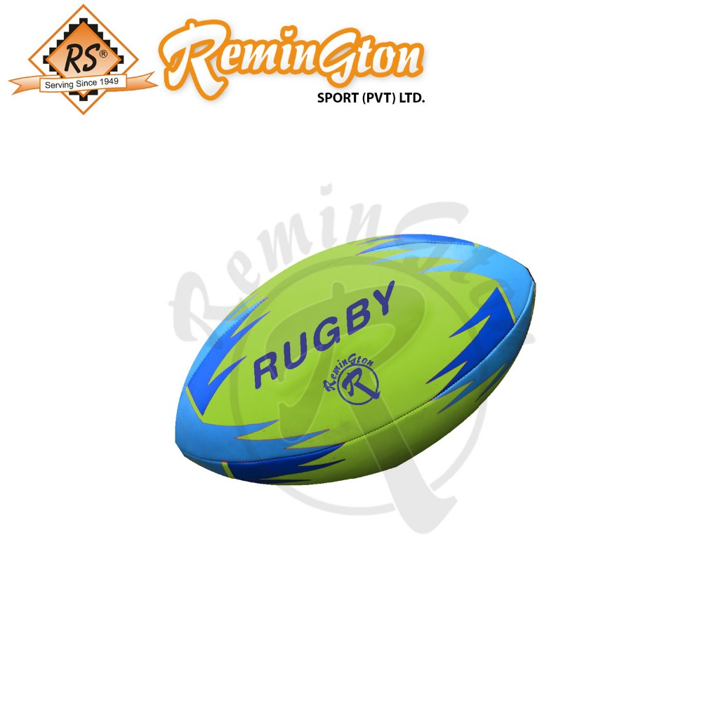 Rg-12 Country Pakistan Rugby Ball 4 Panel Machine Stitched Super Grip Team Rugby Ball