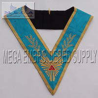 Worship Master Masonic Regalia Collars Masonic French regalia collar