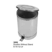 Surgical Instruments Hollow Wares Dustbin Without Stand 6, 10, 12 Litter Stainless Steel 3000