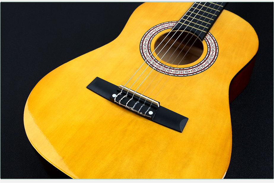 30 inch classical guitar mini guitar classic Deviser China hand made wholesale for beginners and student guitar cheap price