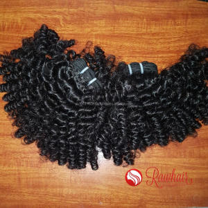 swedish hair extensions south american 4 Pieces/bundle curly human hair 32 inch
