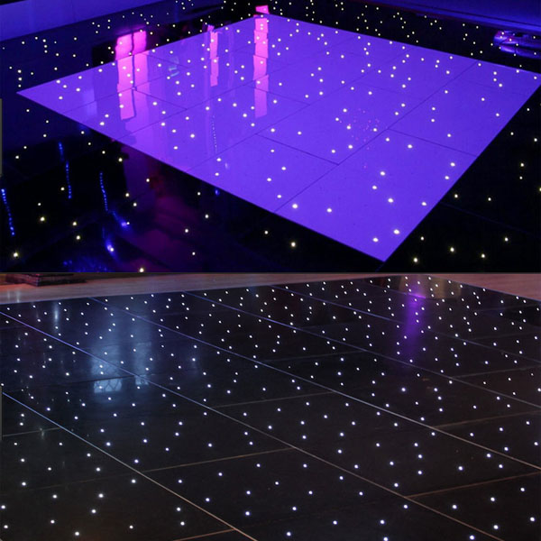 Outdoor Portable 60 120cm Lighted Interactive Led Dance Floor Lighting