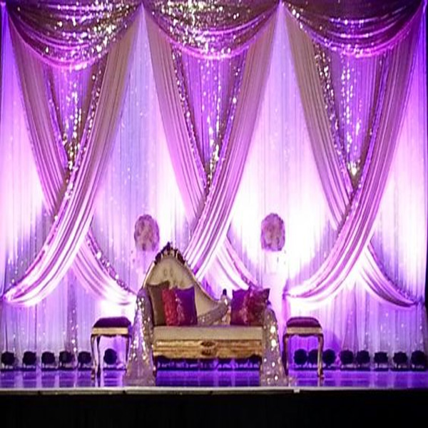WHOLESALE direct accepted telescopic drape kits PIPE systems pipe and drape for wedding backdrops for wedding act