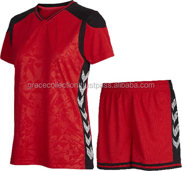 a6e2ddb43509b La de deportes uniforme de fútbol su propio equipo y diseño de fútbol