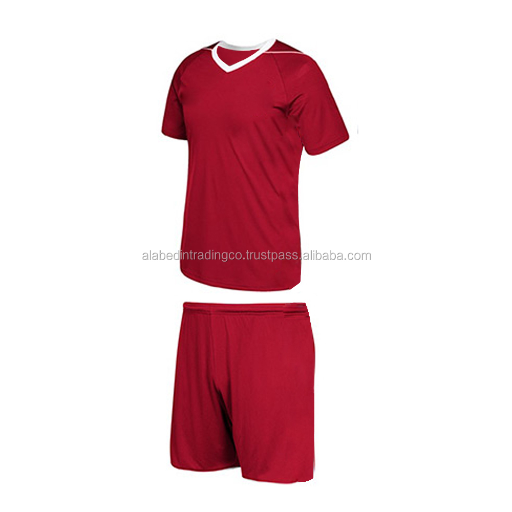 100% Polyester Custom Soccer Uniforms For Teams