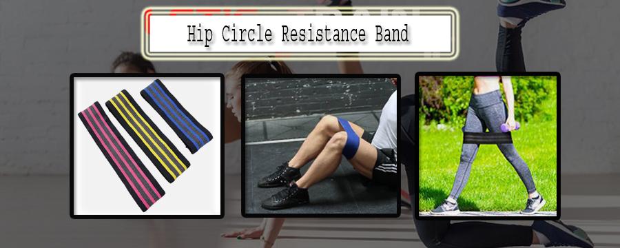 Hip Cirkel Weerstand Band Ideaal Gewichtheffen Hip Warm Up Activering Cirkel