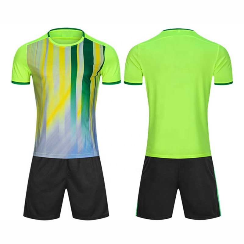 97b95ba58 Professional custom blank Men / kids Boys Soccer Jerseys Set Uniforms  Sports wear Kit Breathable Football jersey
