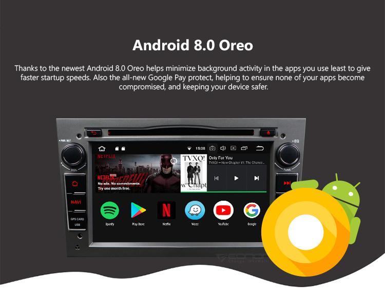 Hotsell EONON GA9154B for Opel Vauxhall Holden Android 8.0 4GB RAM on