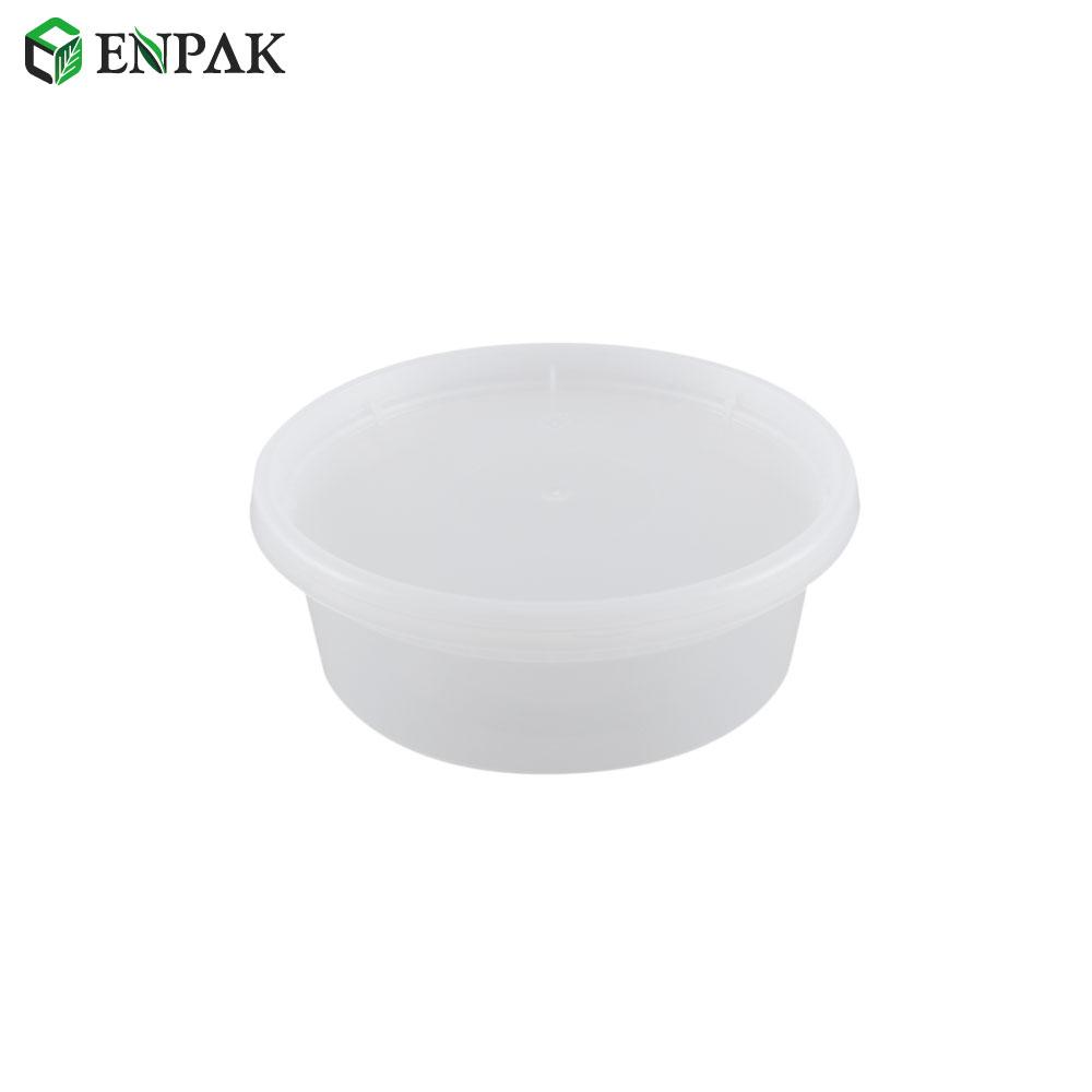 Premium Quality 8oz plastic disposable food grade deli soup cup