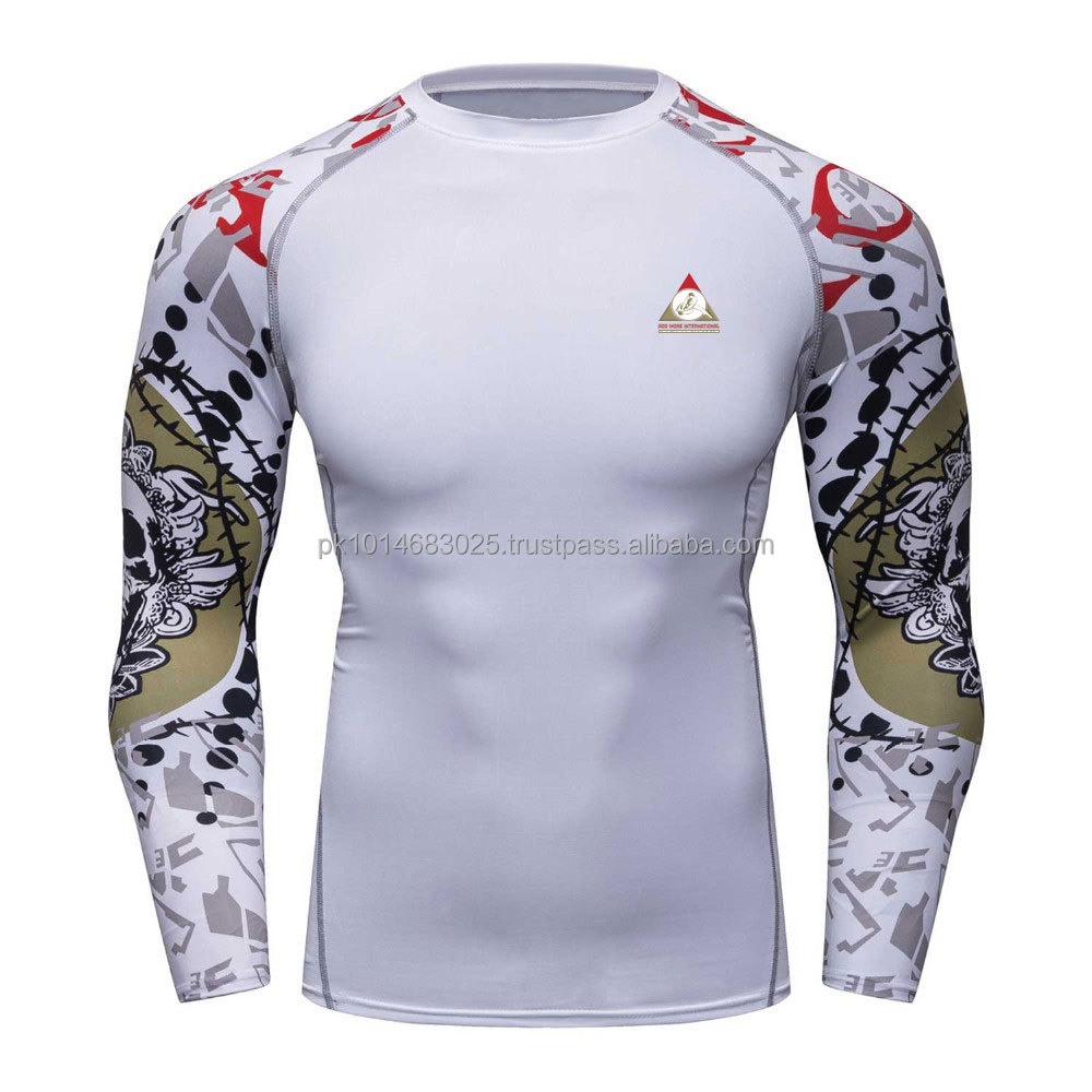 Sublimierte Rash Guards / fullSleeves Rash Guards