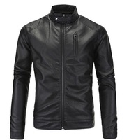 Custom Made Super Quality Full Zipper Fashion Leather Jacket
