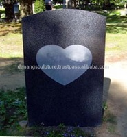 Heart shaped gravestone DSF-M030