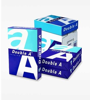 100% woodpulp Double a A4 Copy Paper one A4 Copy Paper 80gsm 75gsm 70gsm from Thailand