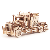 Wood Trick Big Rig 3d wooden model, puzzle 3d - wooden model car, 3d mechanical puzzle