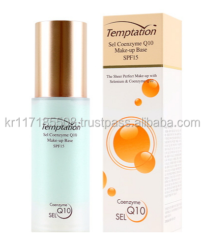 Hankook Temptation Cell Coenzyme Q10 Make Up Base (spf 15) 43ml