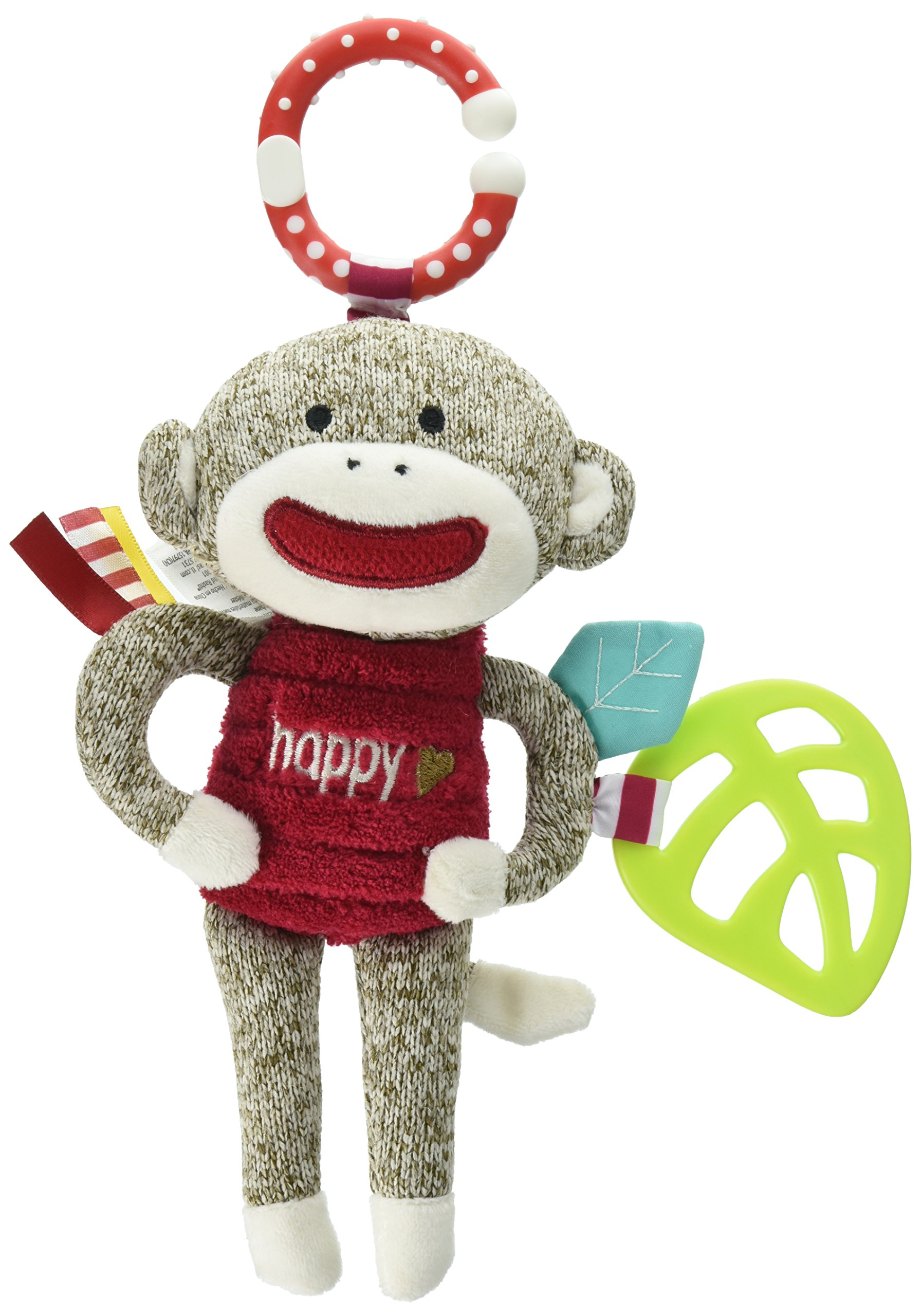 0b0a08110a Get Quotations · Baby Starters Sock Monkey Crinkle