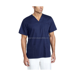 Best Quality Unisex Multi-Pocket Scrub Top
