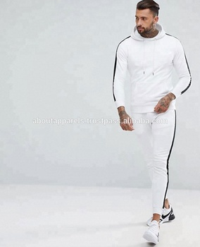 5cd9a17919 Men's Fleece Jacket And Joggers Pants Sweat Track Suit / Plain Sweat Suits  Men Jogger Sweatpants - Buy Grey Wool Classic Slim Fit Custom Men Jogger ...