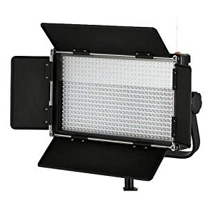 Came-TV 576 Dimmable Bi-Color LED 2-Light Kit V-Mount Battery Plate, Includes 2x100-240V Worldwide AC Adapter, 2X Soft Diffusion Panel, 2X Carry Bag