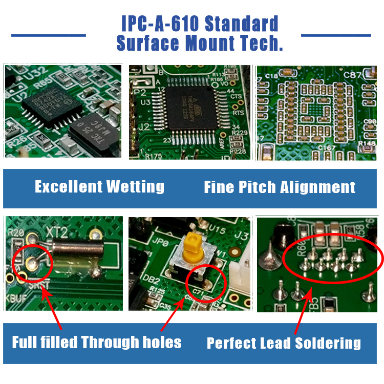 Mechanical USB Keyboard PCB Board and Assembly